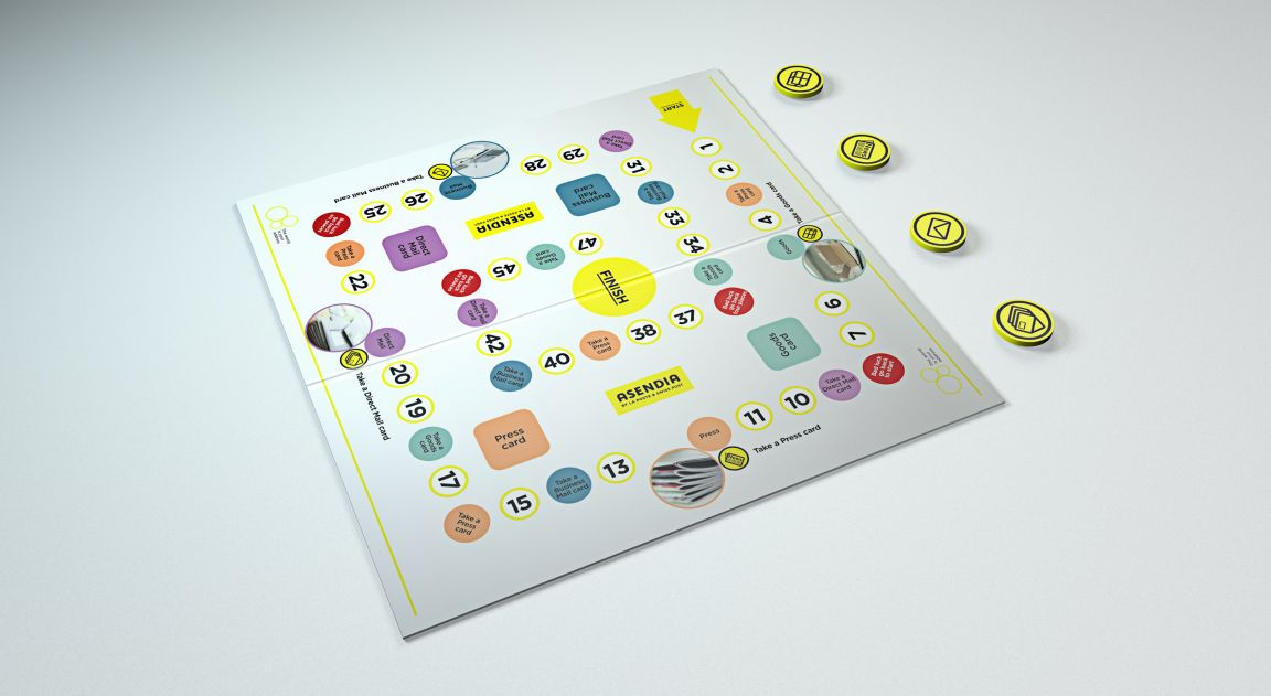Interactive Internal Board Game