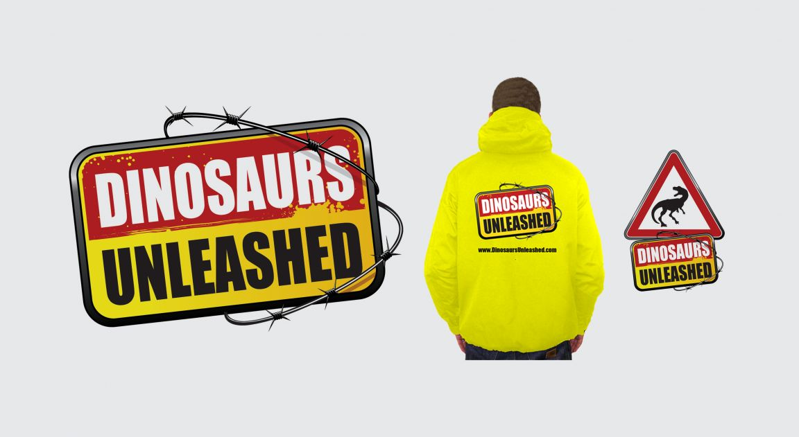 Branding for Dinosaurs Unleashed Event