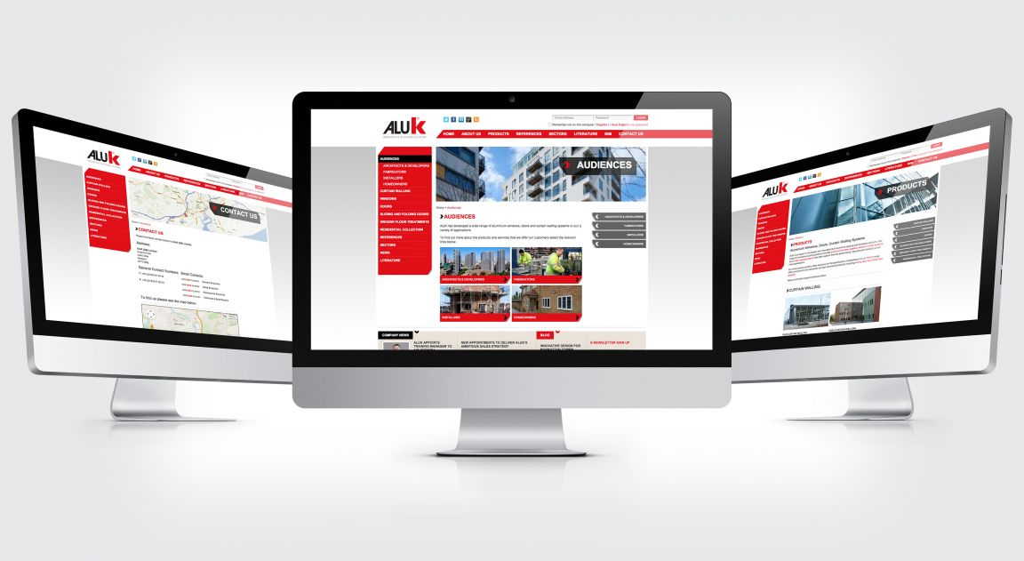AluK Website design and build