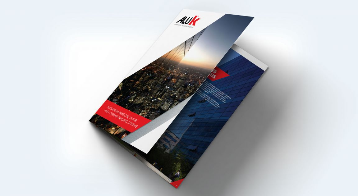 AluK Brochure Design