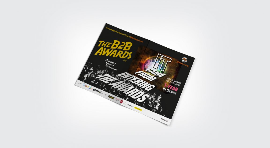Carrier Sheet for B2B Marketing Awards 2015