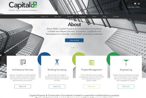 Property Consultants Website Design and Build